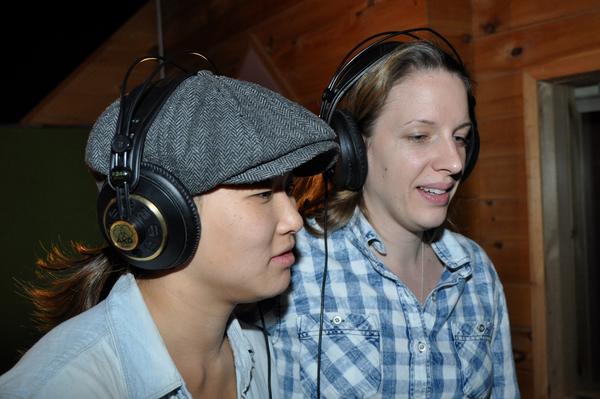 Jenna Ushkowitz and Jessie Mueller