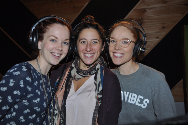 Rebecca LaChance, Sara Shepard and Jessica Keenan Wynn