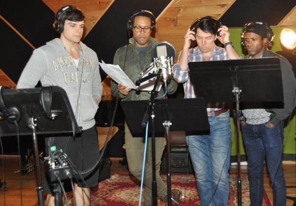 Doug Carpenter, Nicholas Ryan, Kevin Duda and Alan Wiggins Photo