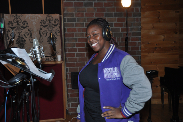 Exclusive Photo Coverage: THE COLOR PURPLE Gets Ready for Christmas with Carols For A Cure