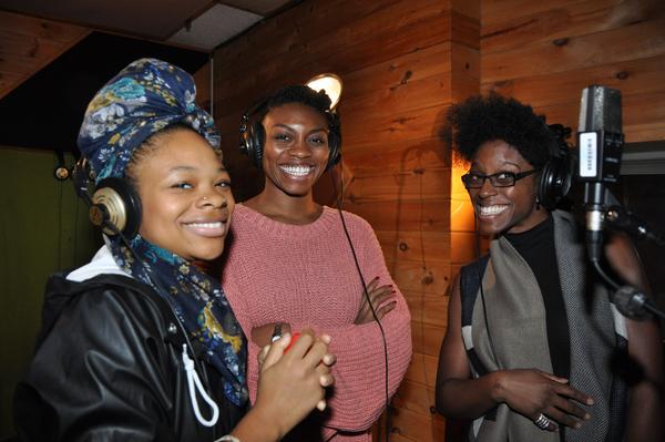 Joy Sade, Adrienne Walker and Kimberly Marable