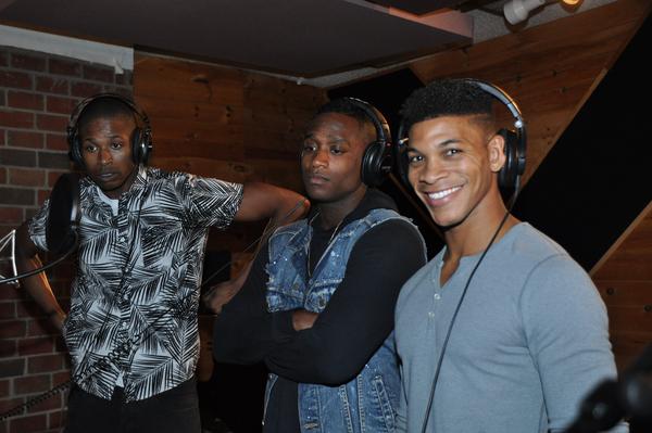 Lawrence Alexander, Nhlanhla Ngobeni and Jaysin McCollum