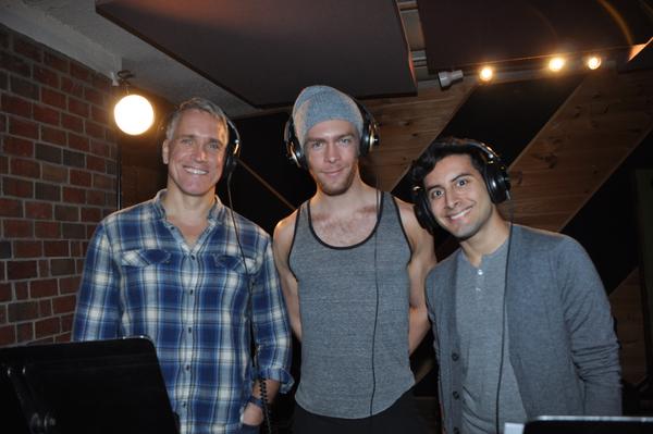 Mike McGowan, Travis Kent and Robert Ariza Photo