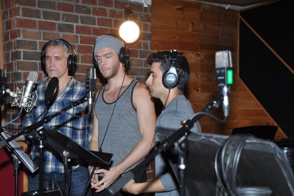 Mike McGowan, Travis Kent and Robert Ariza