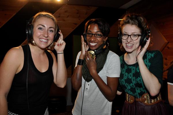 Caley Crawford, Paige Williams and Darien Crago