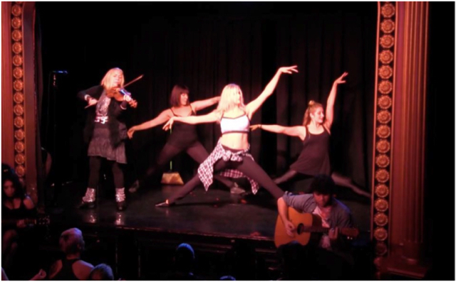 'MARINA's High-nrg LIVE! – The Musical' Applauds The Triad Theatre in NYC