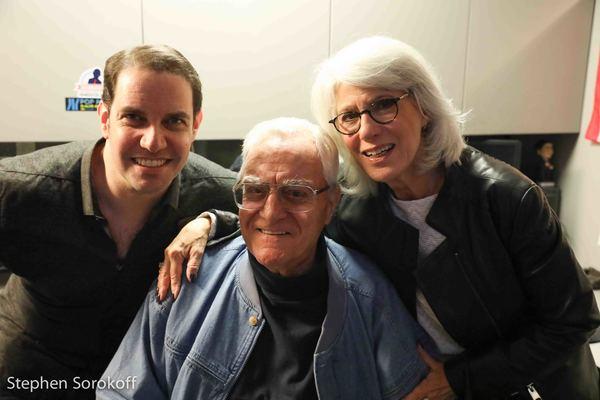 Steven Scott, Pat Cooper, Jamie deRoy Photo
