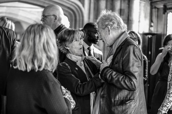 Eileen Atkins and Ian McKellen