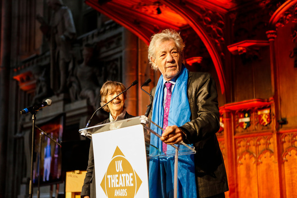 Eileen Atkins and Ian McKellen