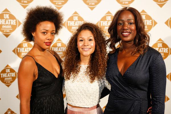 Allyson Ava Brown, Nina Toussaint-White and Jennifer Saayeng