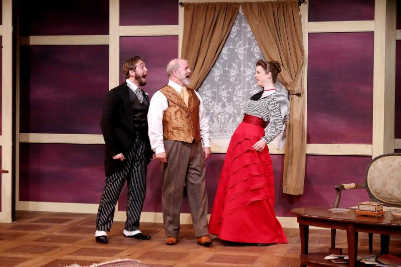 Bww Review The Bear And The Proposal Delight Audiences At Ctc