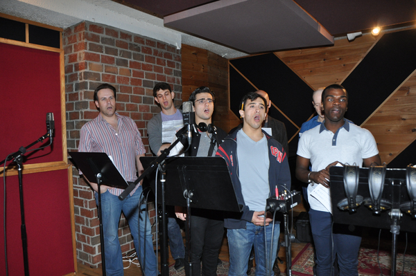Richard Todd Adams, Harris Milgrim, Giuseppe Bausilio, Jess LeProtto, Christopher Gurr, Sharrod Williams