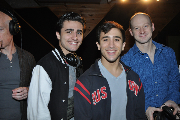 Giuseppe Bausilio, Jess LeProtto and Jeremy Davis