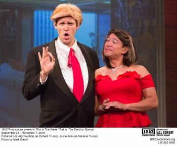 BWW Review: THIS IS THE WEEK THAT IS: THE ELECTION SPECIAL at 1812 Productions