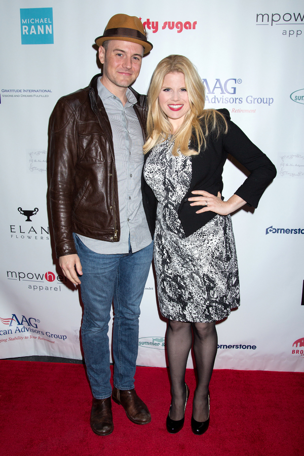 Brian Gallagher, Megan Hilty