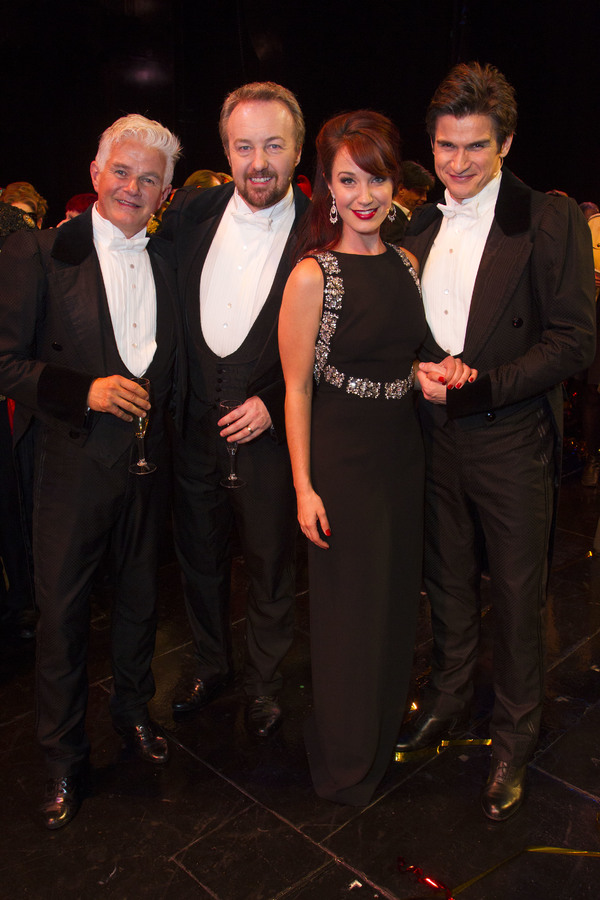 Scott Davies, John Owen-Jones, Sierra Boggess and Gardar Thor Cortes