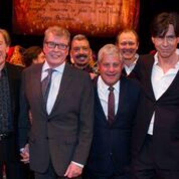 Andrew Lloyd Webber, Michael Crawford, Cameron Mackintosh and Charles Hart