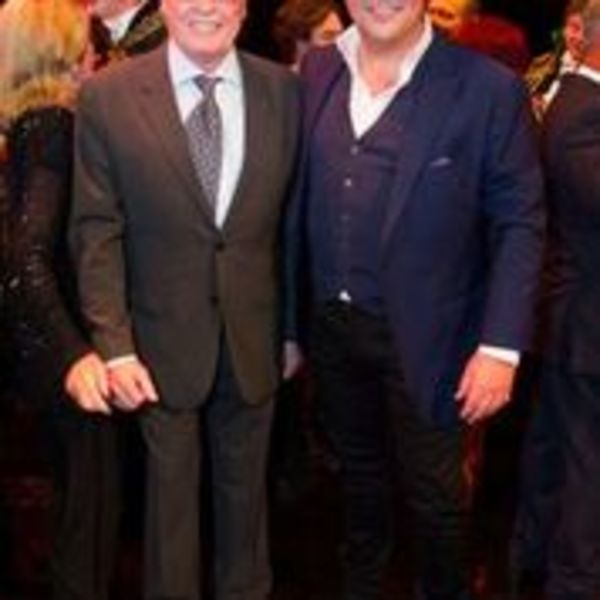 Michael Crawford and Michael Ball