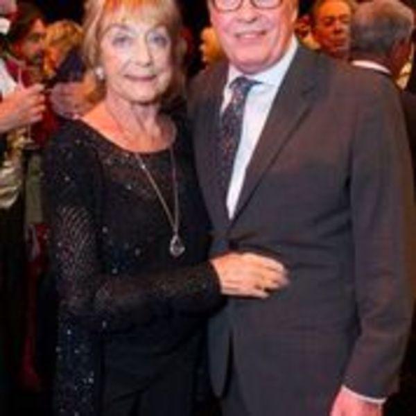 Gillian Lynne and Michael Crawford