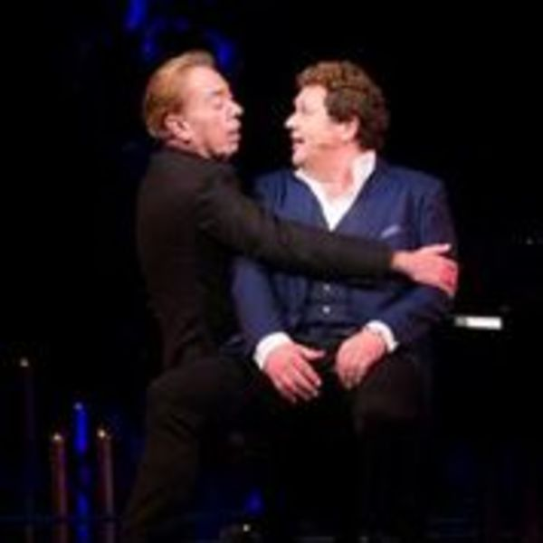 Andrew Lloyd Webber and Michael Ball Photo