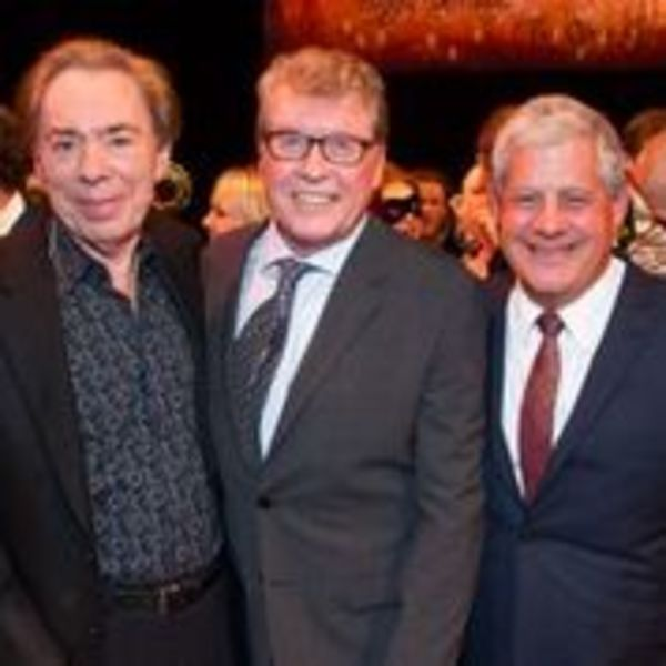 Andrew Lloyd Webber, Michael Crawford and Cameron Mackintosh