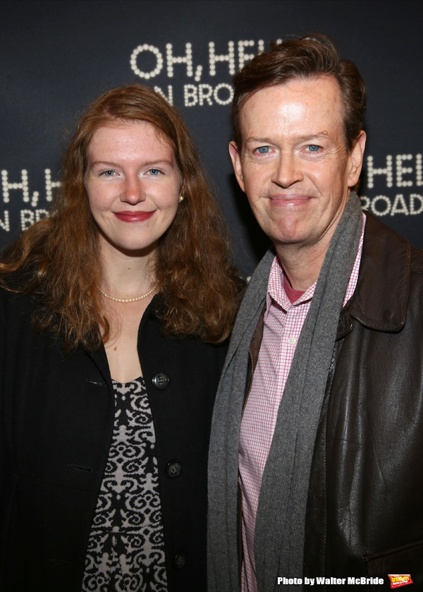 Dylan Baker and daughter