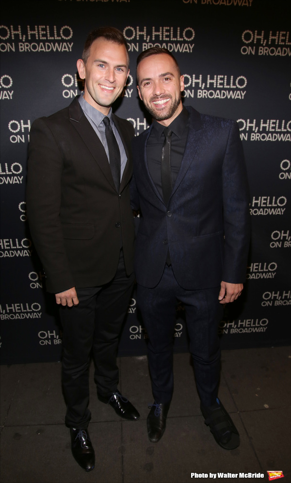 Daniel Reichard and Patrick McCollum
