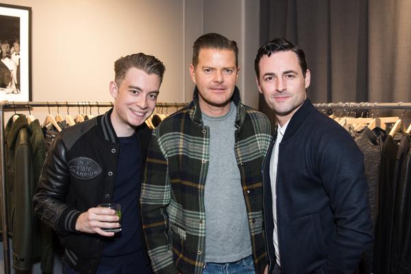 Tony Marion, Clarke Thorell, Max von Essen