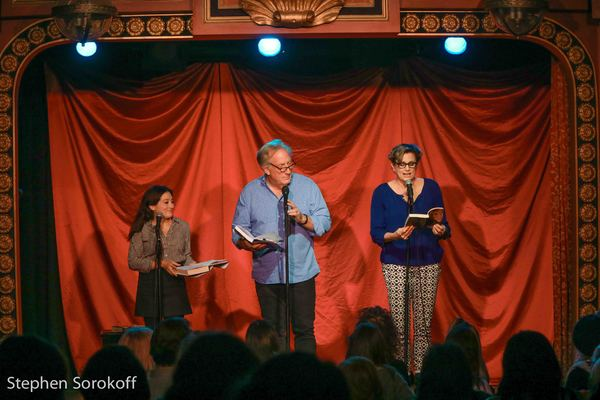 Lucy DeVito, Alan Zweibel, Cady Huffman Photo