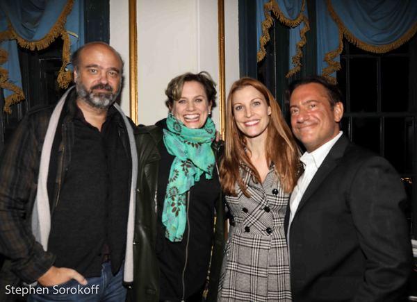 Scott Adsit, Cady Huffman, Rachel York, Eugene Pack Photo