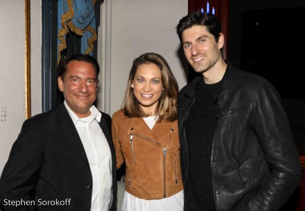 Eugene Pack, Ginger Zee, Ben Aaron Photo