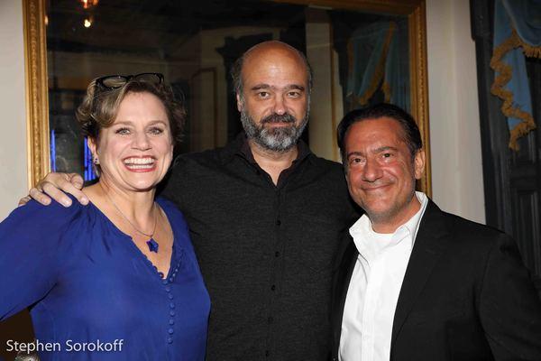 Cady Huffman, Scott Adsit, Eugene Pack Photo