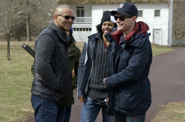 Christopher Jackson, Daveed Diggs, and  Alex Horwitz  Photo