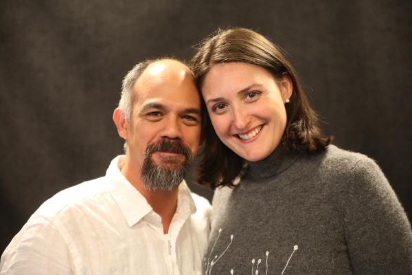 Orlando Pabotoy and Liz Wisan
