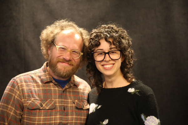 Andy Grotelueschen and Adina Verson