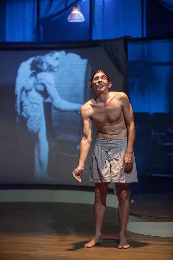 Giles Davies as Joseph Merrick