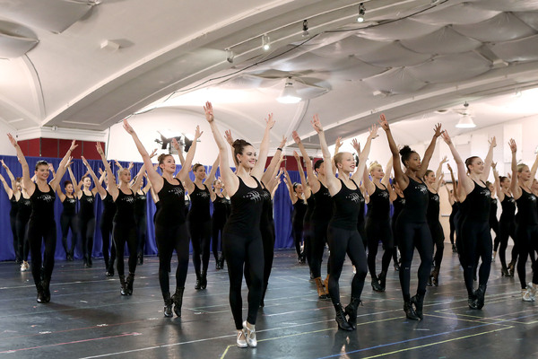 Photo Flash: The Rockettes Kick Off Rehearsals for the 2016 CHRISTMAS SPECTACULAR at Radio City