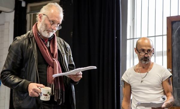 Aden Gillett and Simon Gregor