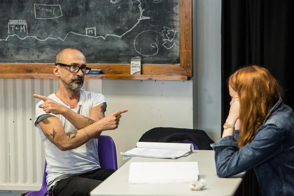 Simon Gregor and Rona Morison