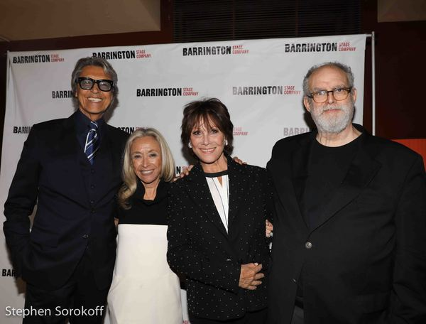 Tommy Tune, Honory Chair, Eda Sorokoff, Chair, Michele Lee, William Finn