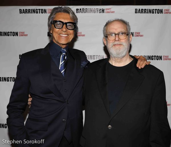 Tommy Tune, Honorary Chair & William Finn
