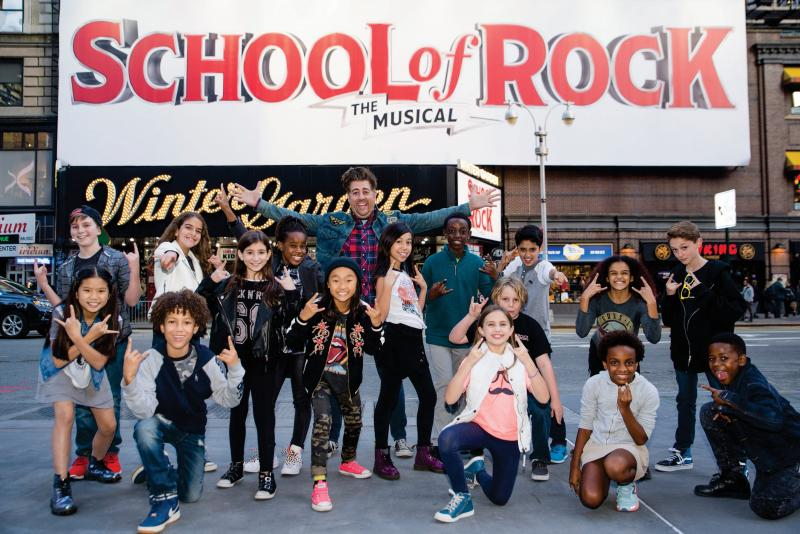 Eric Petersen to Jam with New Class in Broadway's SCHOOL OF ROCK - THE MUSICAL; Alex Brightman to Depart Next Month