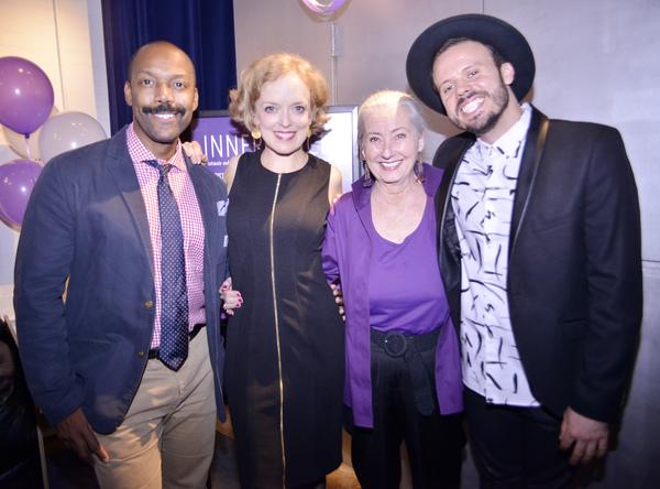 T. Oliver Reid, Nancy Anderson, Paulette Haupt, Michael Thurber