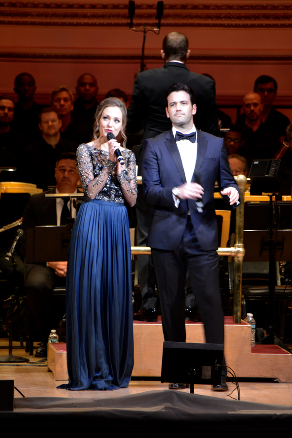 Laura Osnes and Colin Donnell