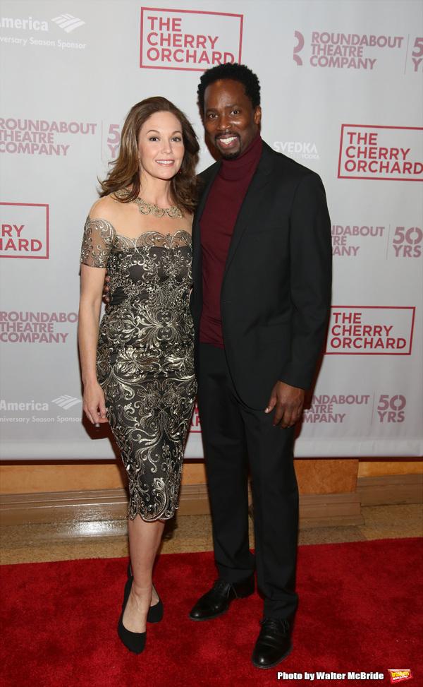 Diane Lane and Harold Perrineau Photo