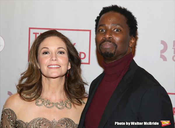 Diane Lane and Harold Perrineau
