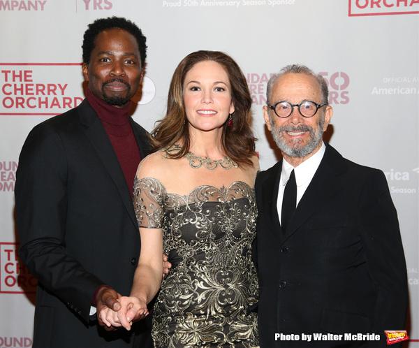 Harold Perrineau, Diane Lane and Joel Grey