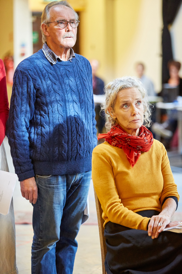 Clive Francis and Barbara Marten