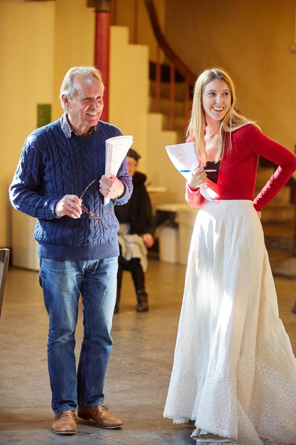 Clive Francis and Carmela Corbett