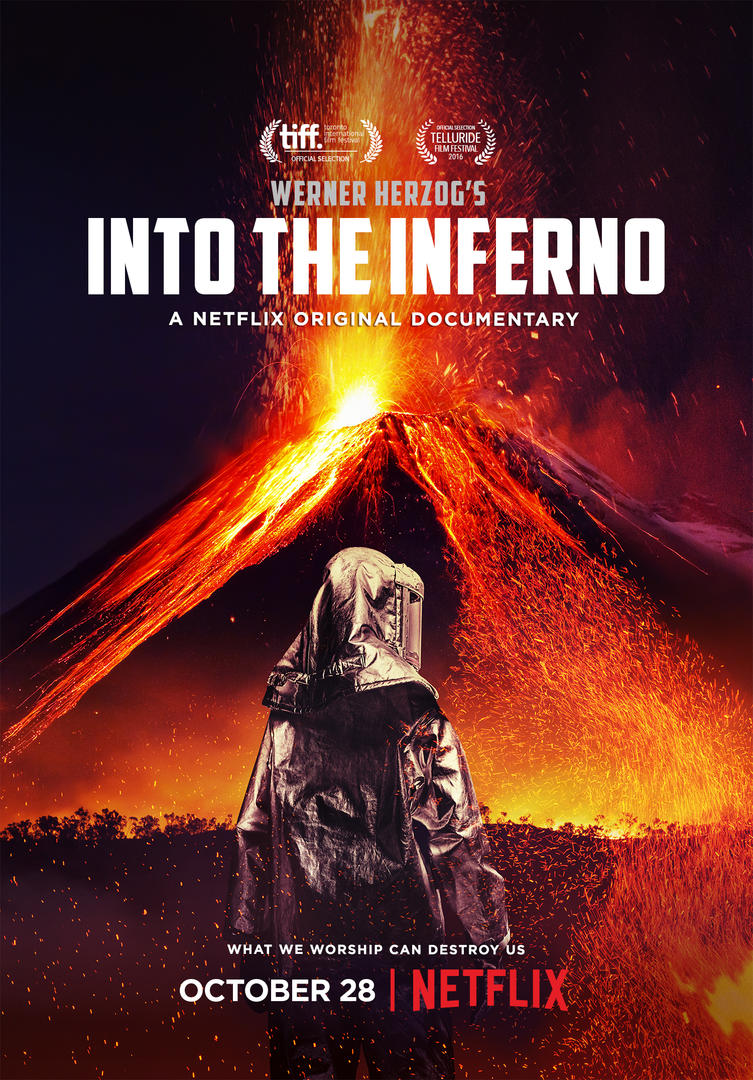 Image result for netflix into the inferno